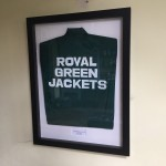 Framed track top